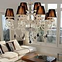 Elegant Crystal Chandelier with 12 Lights