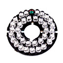 Infrared 35-LED Illuminator Board Plate for 3.6mm Lens CCTV Security Camera