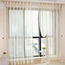 zwei Platten moderne Streifen beige Schlafzimmer Polyester Gardinen Schattierungen