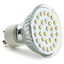 GU10 2 W 30 SMD 3528 90 LM Warm White MR16 Spot Lights AC 220-240 V