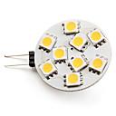 3W G4 LED Spot Lampen 9 SMD 5050 100 lm Warmes Weiß DC 12 V