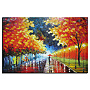 Hand-painted Landscape Oil Painting with Stretched Frame 24