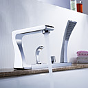 Sprinkle® Tub Faucets Centerset / Pull out with Chrome Two Handles Five Holes