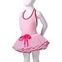 vestito da prestazione del cotone / spandex dancewear tutù di balletto per bambini più colori