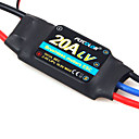 Flycolor 20A 4S ESC for Airplane with Brushless Motor (Random Colors)