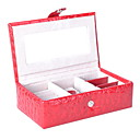 Beautiful Leatherette Women's Jewelry Box(More Colors)