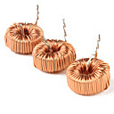 Wired Magnetic Ring Power Inductor (Orange, 10-Piece Pack)