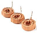 kabel magnet cincin induktor listrik (jeruk, 10-piece pack)