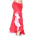 viscosa rendimiento dancewear falda con volantes danza del vientre para las damas más colores más colores