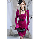 Dame Flared Sleeve Bodycon Dress (Incl.Belt)