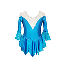 Figure Skating Robe fille (bleu)