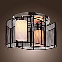 SL® Ceiling Light Modern Design Bedroom 2 Lights Black