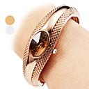 horloge van de vrouwen casual stijl legering armband horloge
