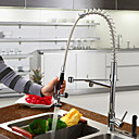 Montaggio su piattaforma Single Handle un foro with Cromo Rubinetto da cucina