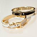 bracelete das mulheres da liga (diâmetro interno: 6 * 5cm, largura: 1cm)