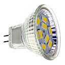 Spot LED Blanc Chaud MR11 GU4(MR11) 4W 9 SMD 5730 430 LM DC 12 V