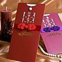 Hochzeits-Einladungen Hülle & Taschenformat Einladungskarten Personalisiert 50 Stück / Set