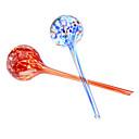 Globes colorés Aqua Creative arrosage à la main en verre soufflé (2-Pack)