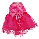 robes de style motif fleur de maille gracieuses pour les chiens (XS-XXL)