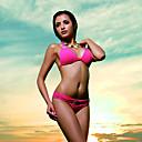 elegante sexy casuale colore solido conforto set bikini