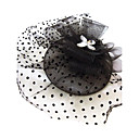 Women's Rhinestone/Net Headpiece - Special Occasion Fascinators