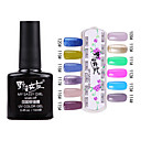 1PCS Soak-off UV Color Gel No.109-No.120 (10 ml, assorterede farver)