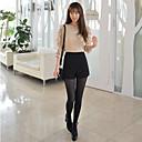 Kvinders Høj talje Solid Shorts
