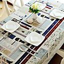 Style cartoon Linge Chiffons européennes de table