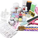 19PCS Acrylic Powder Nail Art set