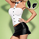 Attrapez le lapin! Cute Black and White Bunny Girl Costume