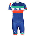 Kooplus 2015 Championship Cycling Jersey Italy + Shorts Polyester&Lycra&Elastic Fabric Cycling Suits