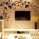 diy autoadesivi della parete del fiore rami degli alberi stickers murali lavabili