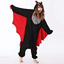 Costume a tuta da pipistrello, in pile