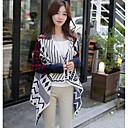 Kingdaban Fashion jakkeslaget Uregelmessig Shape Cardigan genser