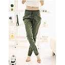 Pure Color donne pantaloni casual