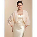 Party/Evening / Casual Chiffon Coats/Jackets 3/4-Length Sleeve Wedding  Wraps