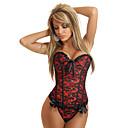 raso con plastica shapewear disossamento corsetto (più colori) biancheria sexy shaper