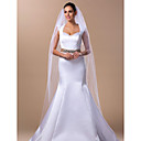 Two-tier Cathedral Wedding Veil With Beading(More Colors)