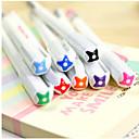 8 Color Jell Line Pattern Colorful Gel Pen(8 PCS)