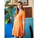 TS Lace Shoulder Short Sleeve Dress