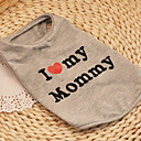I Love My Mommy Cotton Vest for Dogs (XS-XXL)