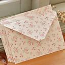 Petit motif de fleurs Art Papier Enveloppe - Ensemble de 12