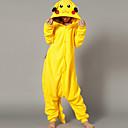 Unisex Cute Pikachu Polar Fleece Kigurumi Pajama