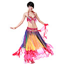 Dancewear Women's Chiffon Colorful Belly Dance Skirts(More Colors)
