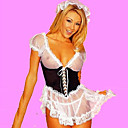 Hot Girl Black and White Lingerie French Maid Uniform