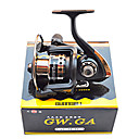 Carrete de la pesca Carretes para pesca spinning 5.2:1 5 Rodamientos de bolas Pesca de Mar / Pesca al spinning / Pesca de agua dulce -