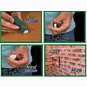 3 Pices Resin Cement with Strength of Hand Tool