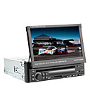7 polegadas 1DIN TFT Tela no painel do carro DVD Player com GPS, BT, RDS, iPod, Touch Screen