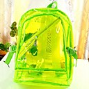 Women's Fluorescent Transparent Waterproof Backpack