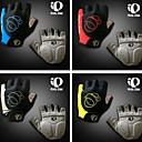 gants de vélo Cyclisme doigts gel de silicone respirant gants amorti la moitié des doigts